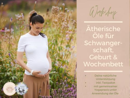 Ätherische Öle in der Schwangerschaft